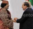 Roma, Muammar Gheddafi e Silvio Berlusconi.