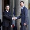 Parigi, Nicolas Sarkozy e Bashar al-Assad,