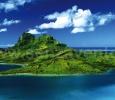 Bora Bora, Arcipelago della Società, Francia.
