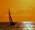 Sailing.