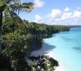 Spiaggia di Kiki, Nuova Caledonia, Francia.