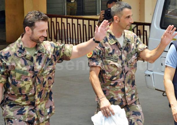 I due fucilieri della Marina Militare, Salvatore Girone e Massimiliano Latorre. Vittime o carnefici? Solo il processo che probabilmente mai si terrà, avrebbe potuto appurarlo.