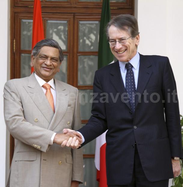 Somanahalli Mallaiah Krishna e Giulio Terzi