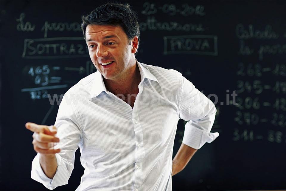 """Matteo Renzi, il Presidente del Consiglio """"politico, non-politico"""", asceso a Palazzo Chigi senza essere passato preventivamente per le """"forche caudine"""" del Voto popolare. Come dire: """"tecnicamente"""", con la sua designazione, hanno vinto ancora una volta le """"manovre di Palazzo"""" architettate per garantire e tutelare quei """"Poteri Forti"""" che taluni ancora faticano ad accettare, ma che in realtà esistono e """"lottano contro di noi"""", che ancora crediamo in un sentimento chiamato """"Democrazia""""..."""